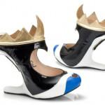 sapatos das vilãs da disney